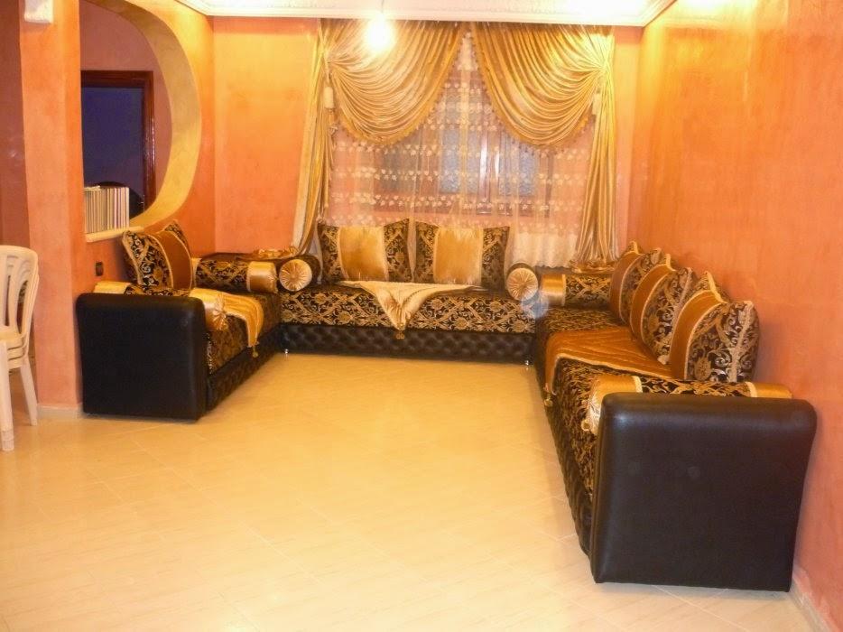 salons du maroc et d coration orientale mod les de salon marocain moderne. Black Bedroom Furniture Sets. Home Design Ideas