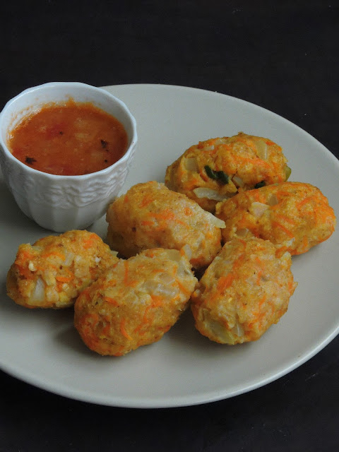 Oats Kozhukattai, Oats & Carrot Dumplings