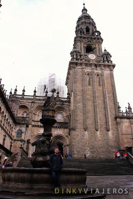 Catedral de Santiago de Compostela. Plaza de las Platerías