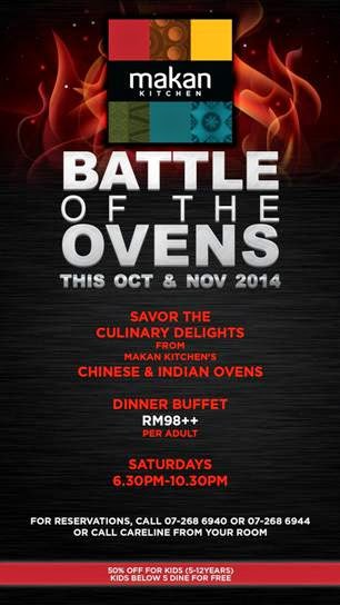 makan kitchen battle of the ovens blogger review