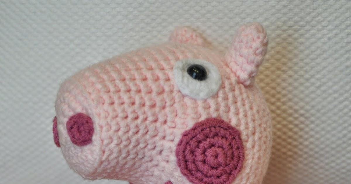 Patrón de Peppa Pig a ganchillo | 630x1200