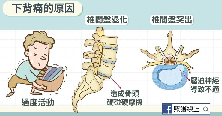 背痛超難受,龍骨保健很重要!(懶人包) - 照護線上