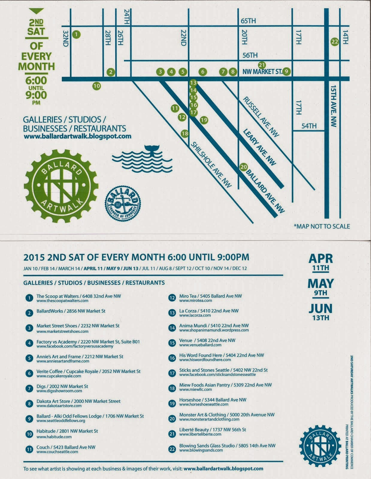 Artwalk Map