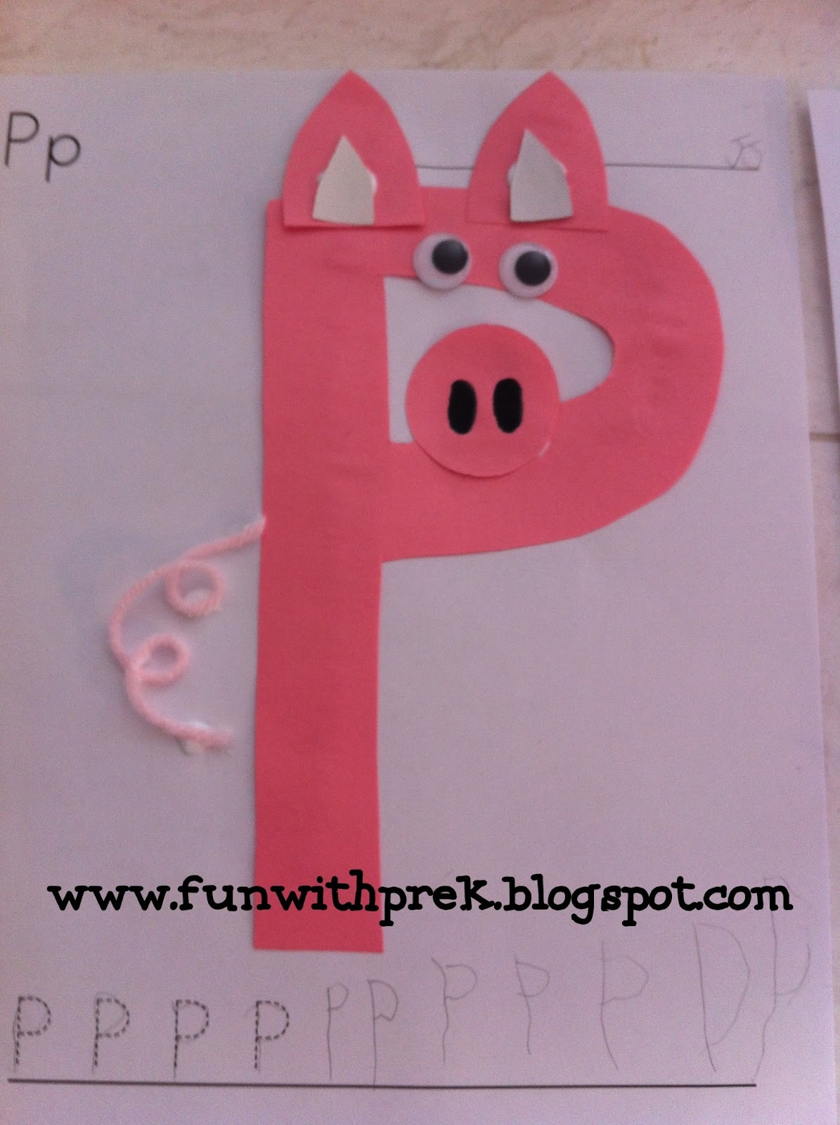Lil Miss Smartypants P Is For Pig