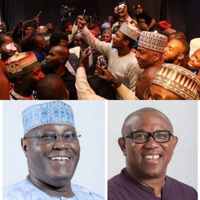 President Buhari's Son Yusuf Is Now Campaigning For Atiku And Obi