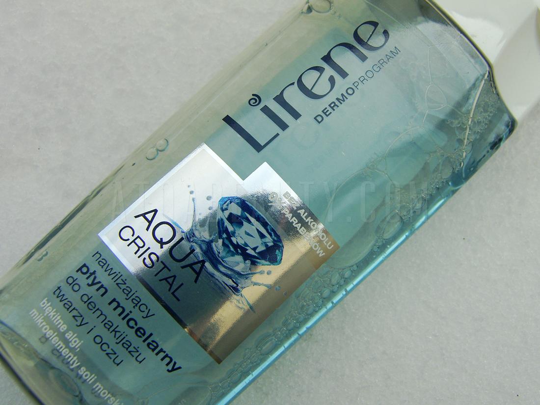 Lirene, DermoProgram, Aqua Cristal, Nawilżający płyn micelarny