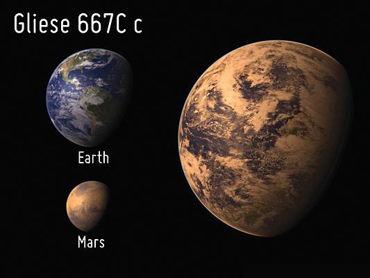 Fiat Lux: Planet Profile: Gliese 667Cc