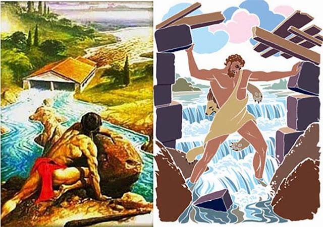 """Αποκωδικοποίησις του Μύθου """"Οι Σταύλοι τού Αυγείου"""" (Βίντεο)"""