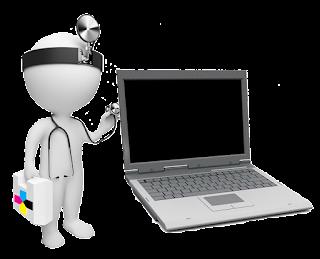 Laptop kijelző csere javítás