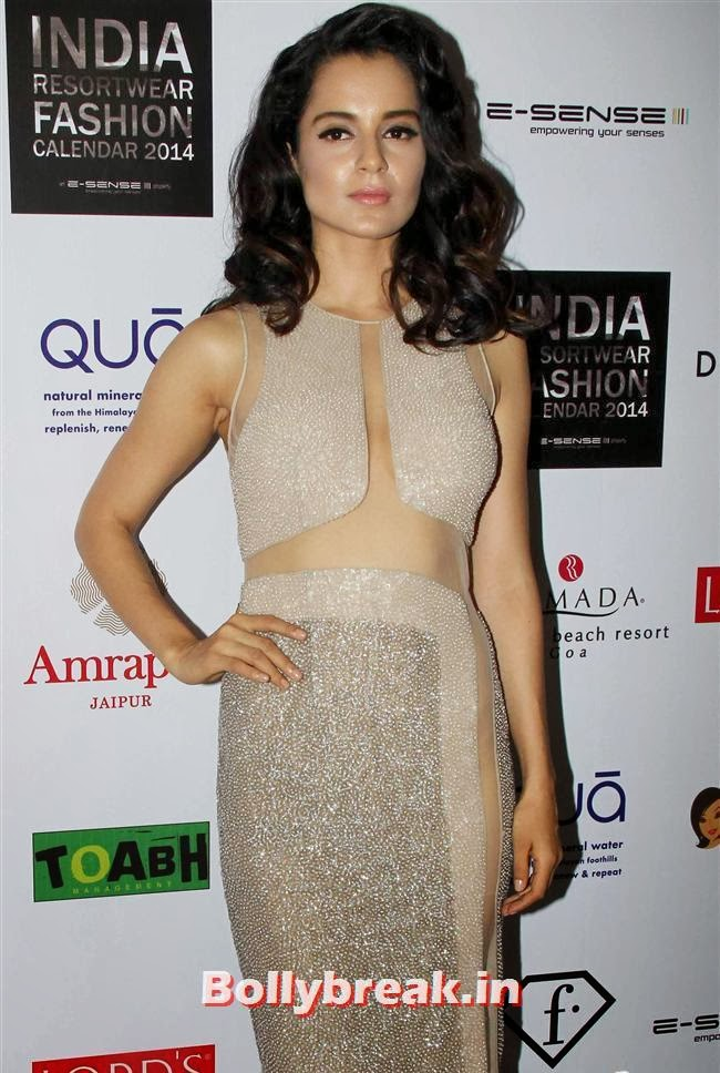 Kangana Ranaut, Kangana, Evelyn, Pria sizzle at Resortwear Fashion Calendar Launch