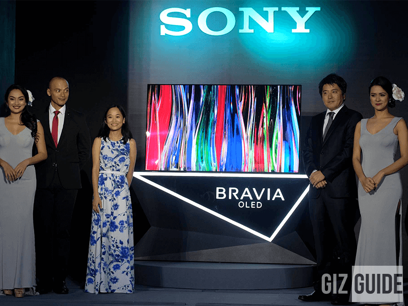 Sony BRAVIA OLED A1 Series Expands 4K HDR TV Line-up In PH