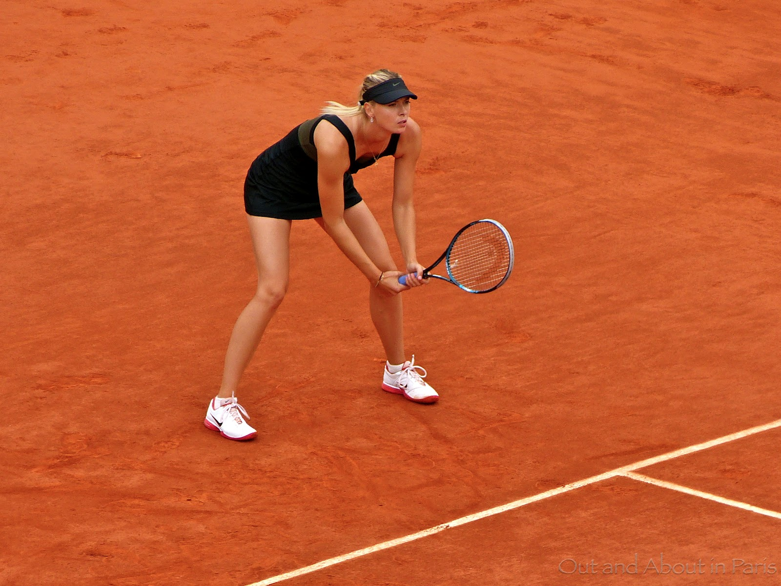 Sunday S Picture And A Song Sharapova And Djokovic At The French Open Women S Final