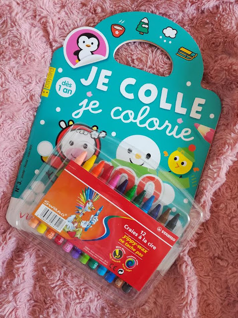 Je colle je colorie Magazine bébé Coloriage