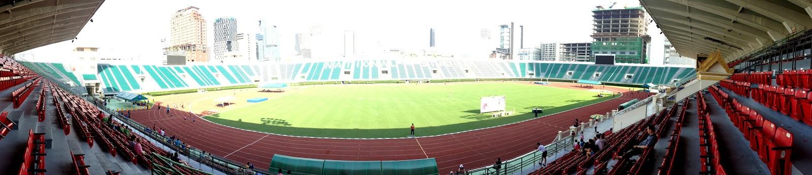 Hopping All Over The World Suphachalasai National Stadium Bangkok