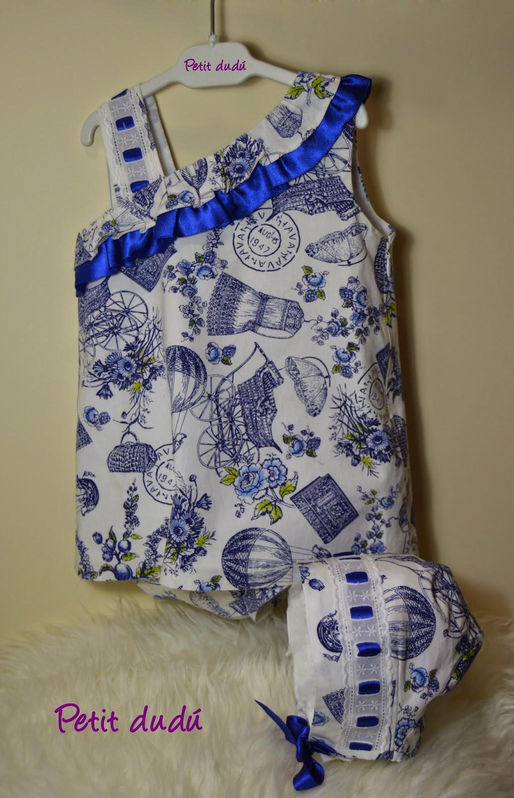 Vestido Escote para Niña Petitdudu