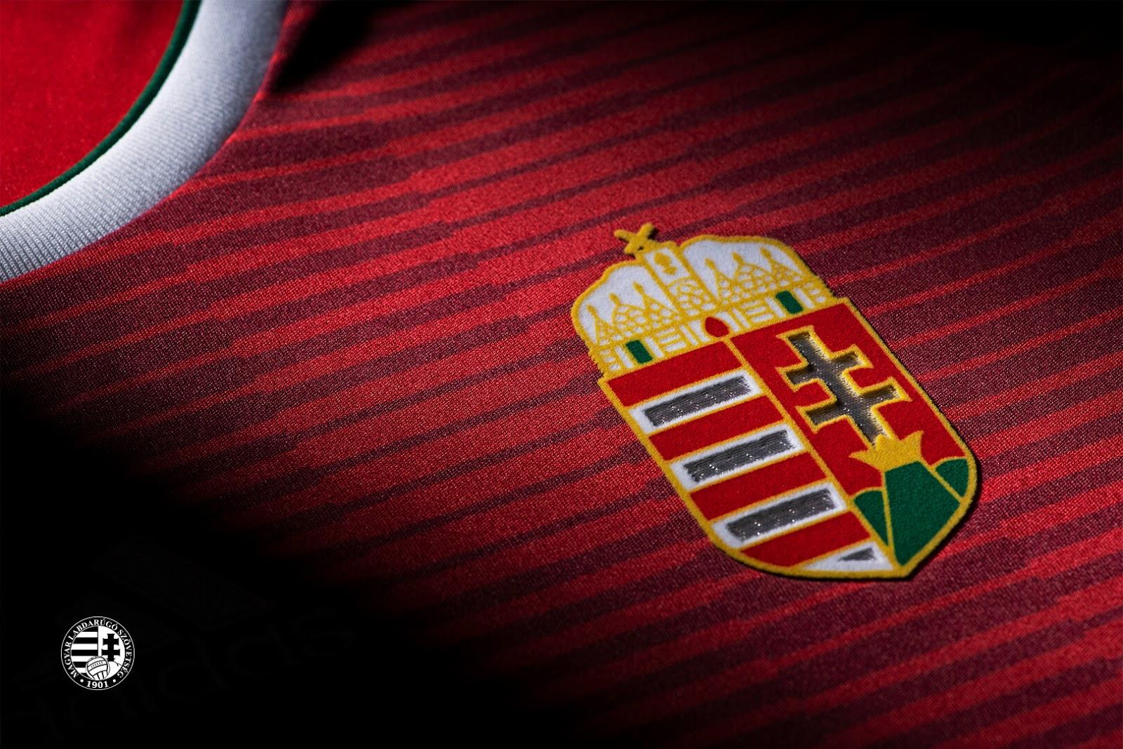 Adidas divulga as novas camisas da Hungria - Show de Camisas acaeb149fc6ff