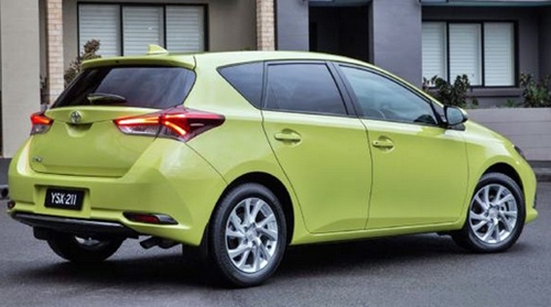Toyota Corolla Ascent Green Frog Sport 2016
