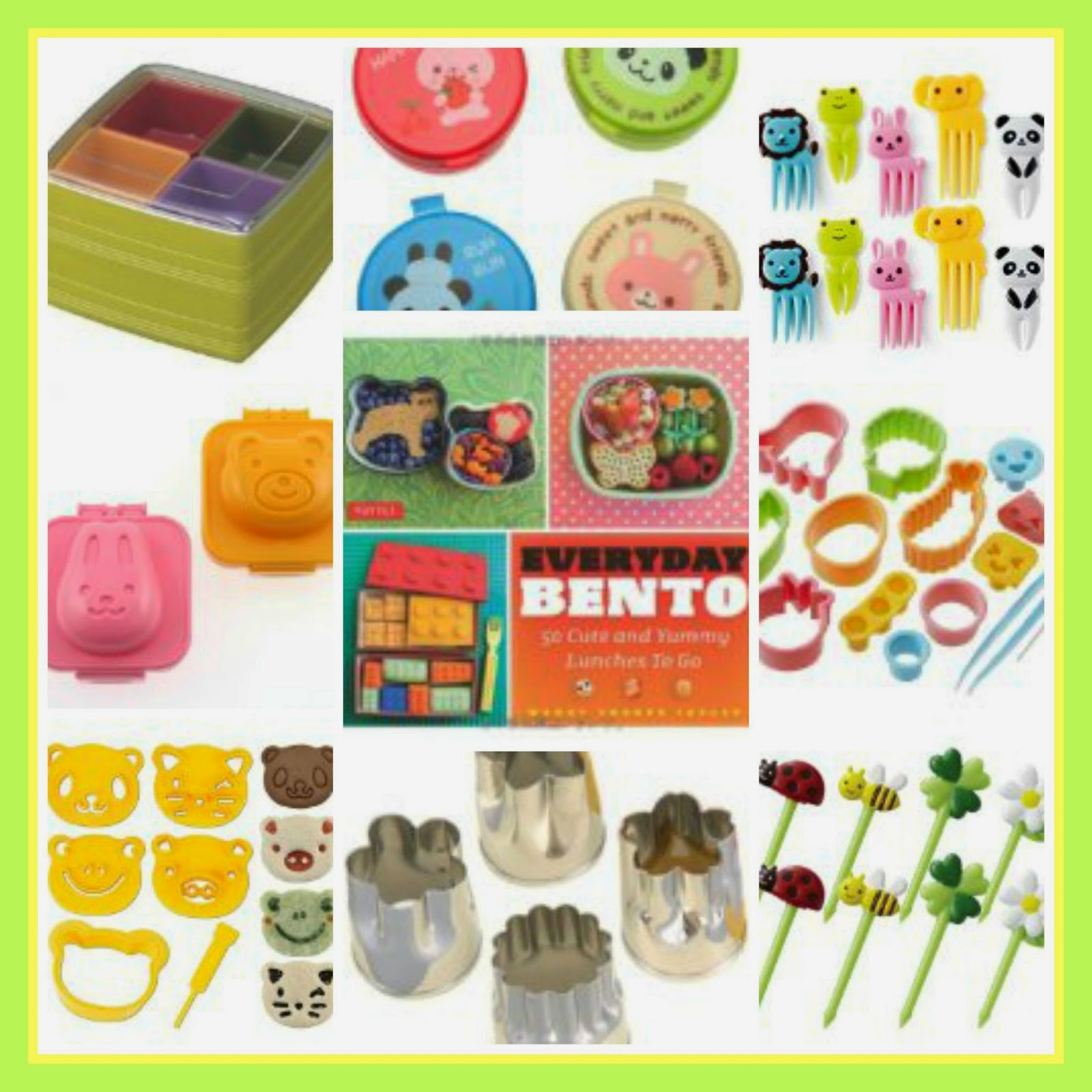 Bento Box Accessories For Kids: Perfect Bento Box Lunch Supplies For Back-to-School