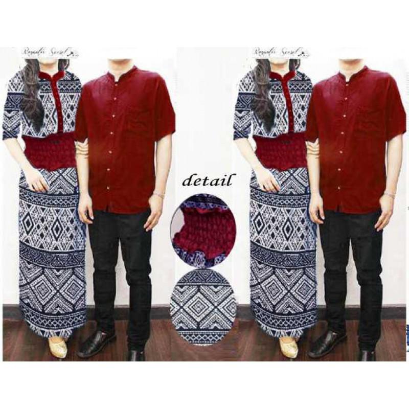 Jual Batik Gamis Couple Amara - 23530