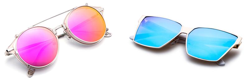 Óculos Flat Sunnies Coloridos