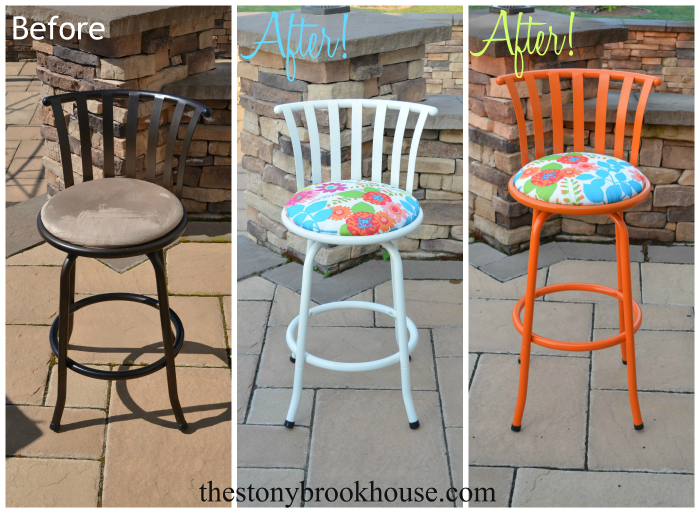 Barstools Makeovers