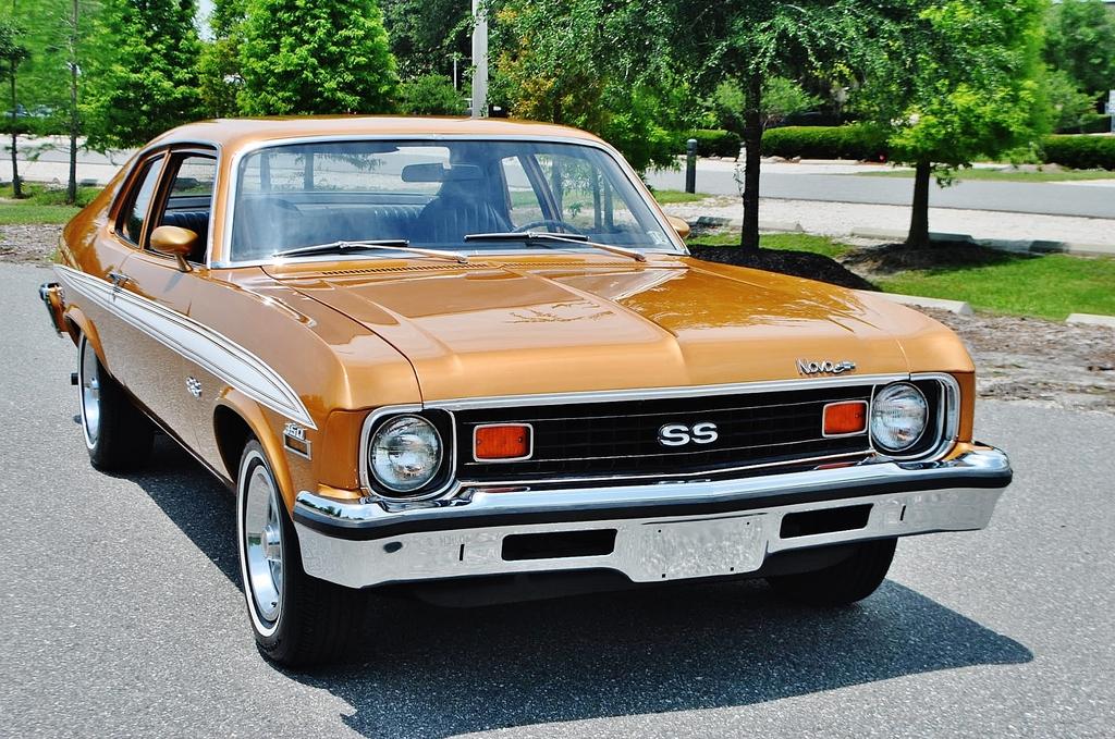 2015 Camaro Convertible >> All American Classic Cars: 1973 Chevrolet Nova SS 2-Door Coupe