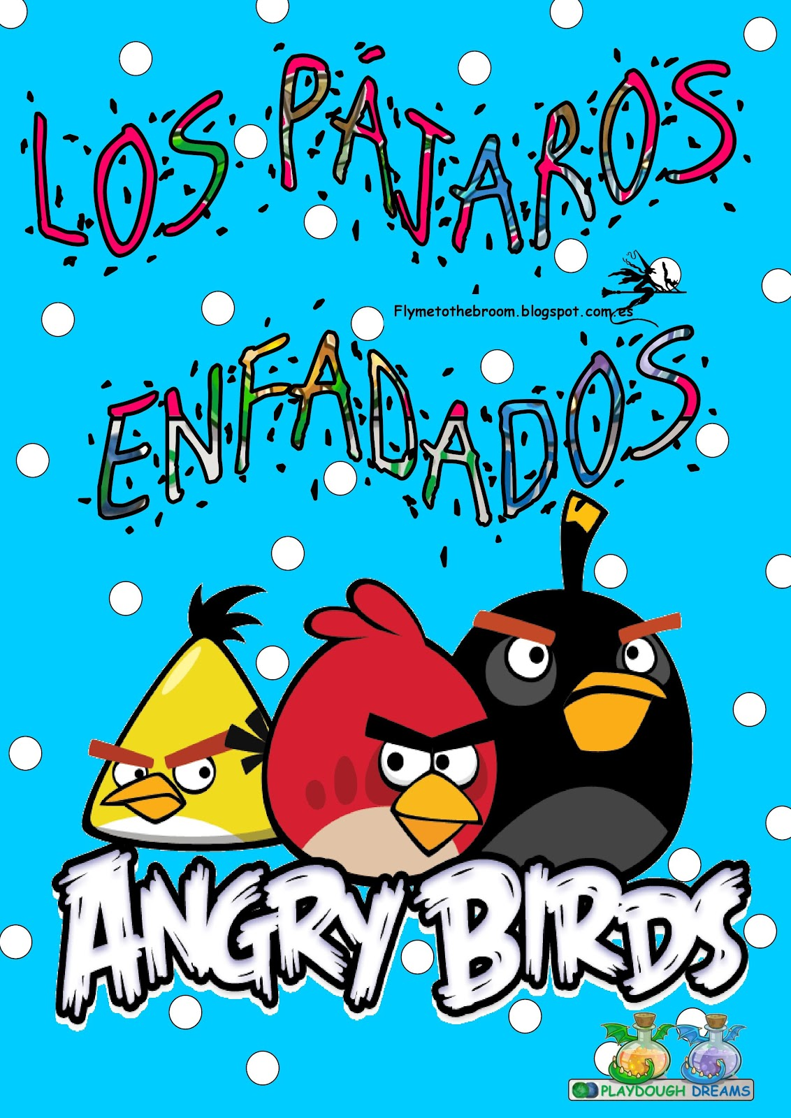 Fly Me To The Broom Grupo Nominal Angry Birds