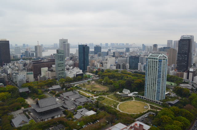 View of Minato from Tokyo Tower