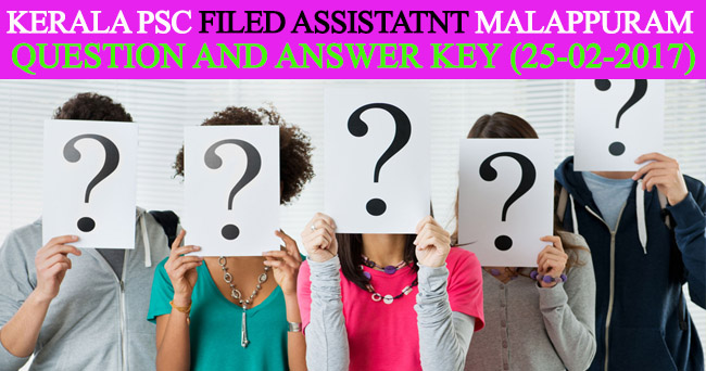 Kerala PSC field assistant health department malappuram ...