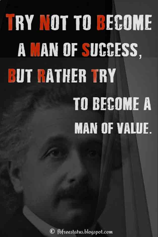 Albert Einstein Quotes.