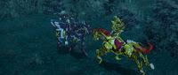Garo battles Zem