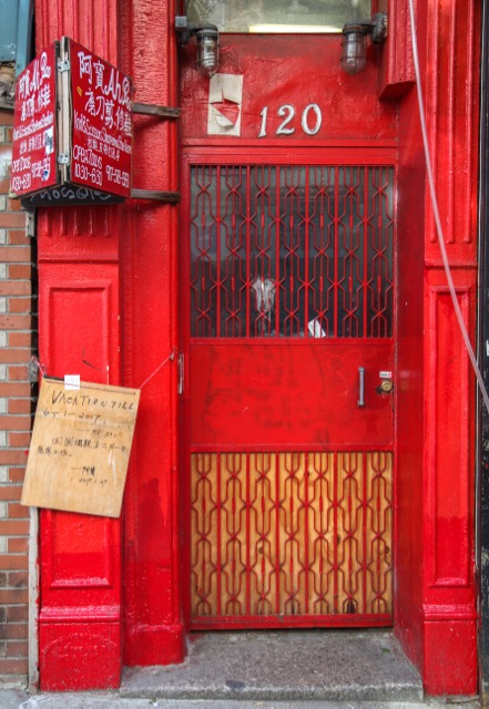 Doors found throughout Manhattan Queens Brooklyn and the Bronx & Kaid Ashton: NYC Doors