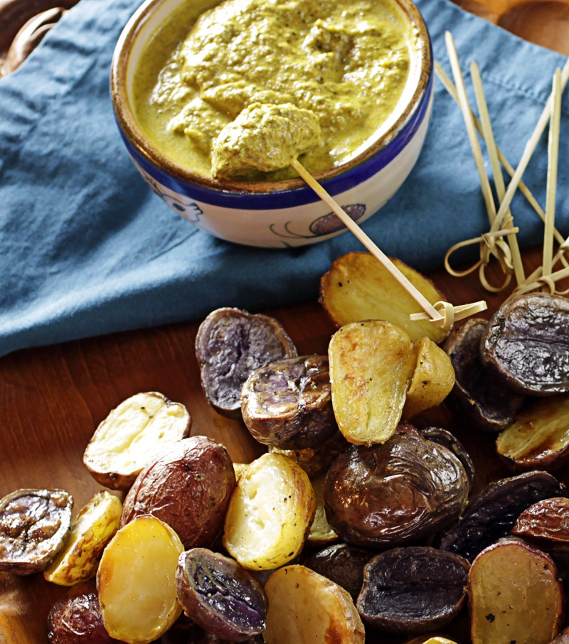 There's A Newf In My Soup!: Andean-Style Roasted Potatoes