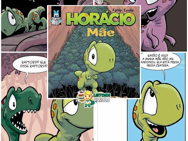 Previews da nova Graphic MSP: Horácio - Mãe
