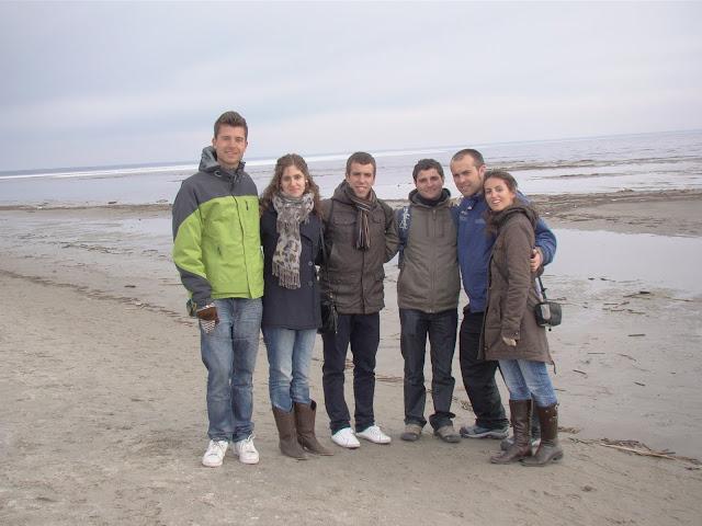 En la playa de Parnu