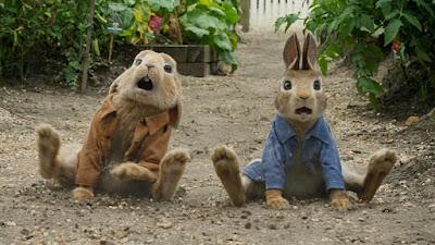 image du film pierre le lapin