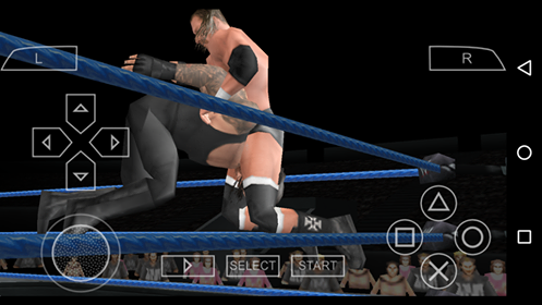 تحميل لعبة المصارعة SMACK DOWN للاندرويد بحجم 250 ميجا