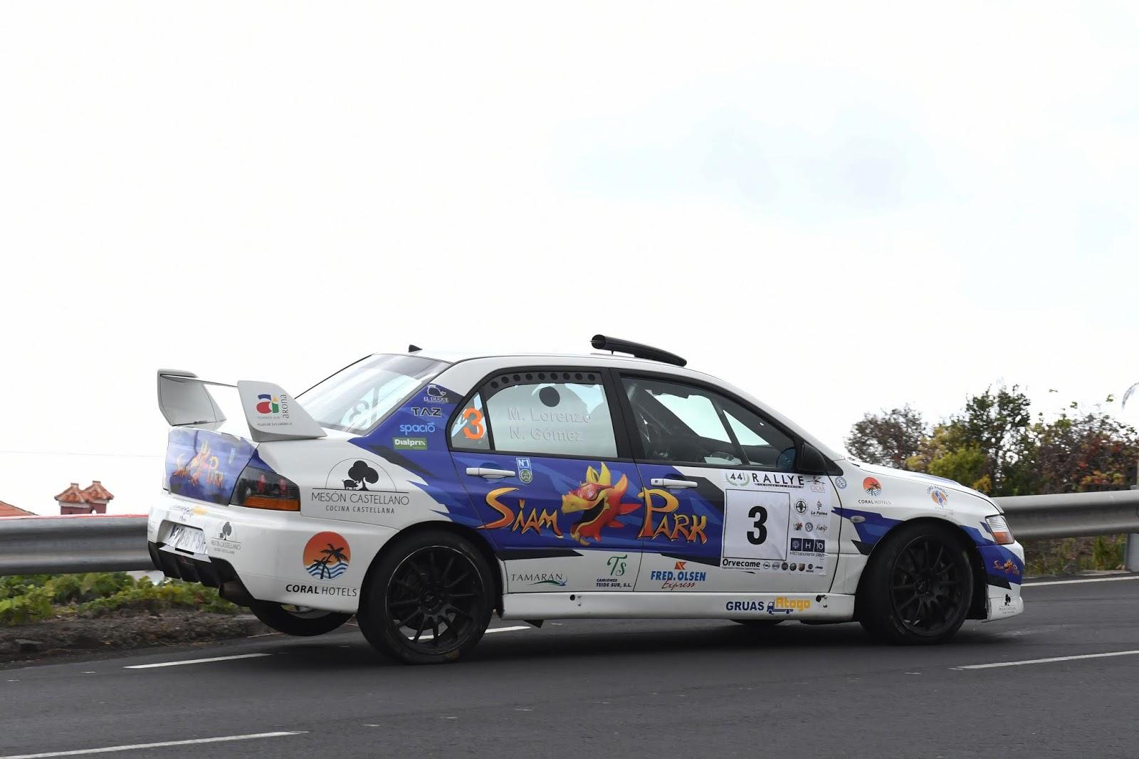 El Rallye Isla Bonita repetirá el recorrido de la pasada edición