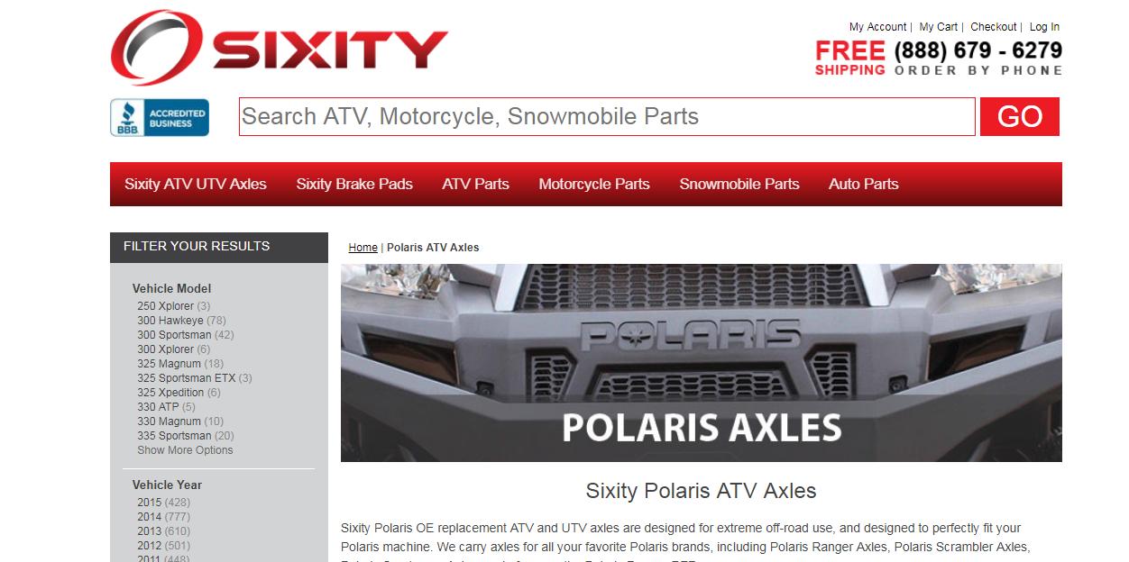 Top 5 ATV Axles Brand in 2017 Online