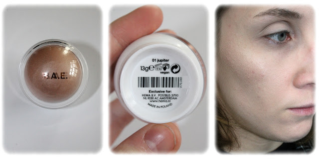 Swatch Highlighter Glow Ball Teinte Jupiter
