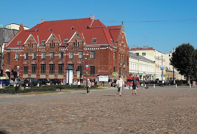 Выборг – рыночная площадь (Vyborg - market square)