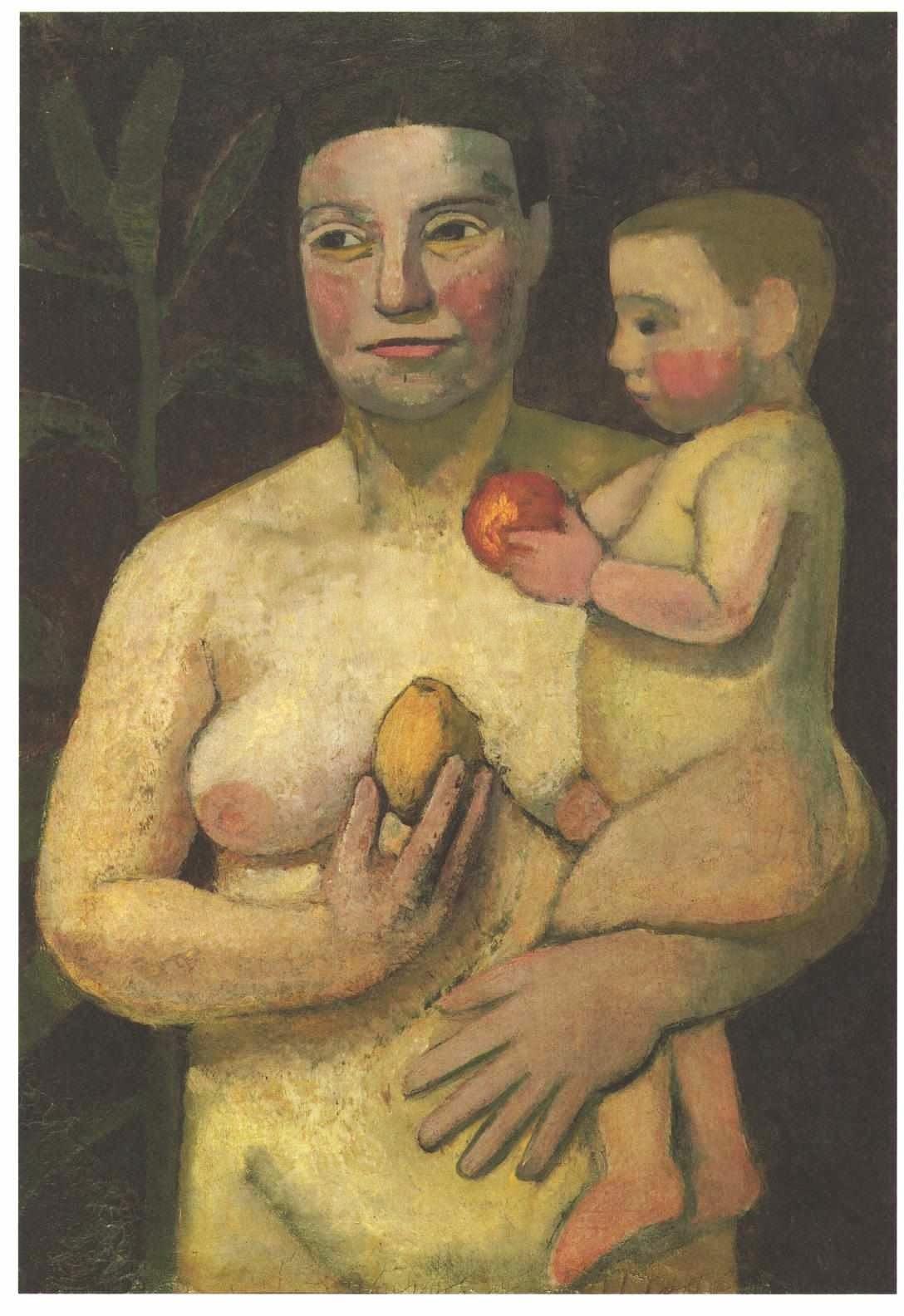 Mother and Child, Paula Modersohn-Becker