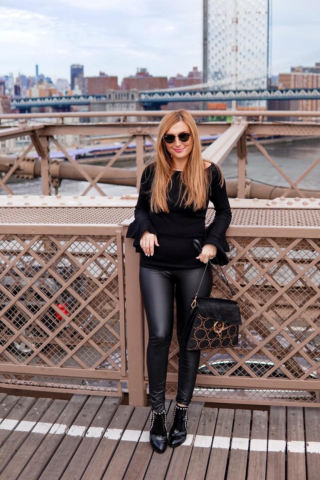 new-york-hotspots-Just-black-lederleggings-schwarze-leggings-bloggertstyle-fashionblogger-outfitinspiration-brooklynbridge-olivia-palermo-style-fashionstylebyjohanna