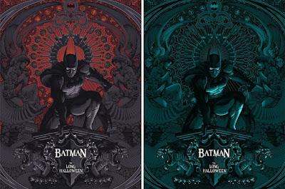 Batman: The Long Halloween Screen Print by John Guydo x Bottleneck Gallery