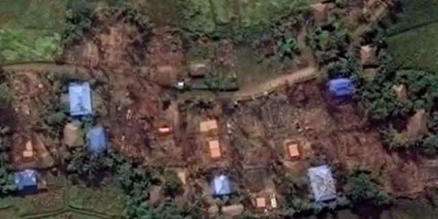 Tiga Desa Dibakar, Muslim Rohingya Kembali Mendapatkan Kekerasan Di Myanmar