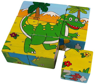 Colorful Wooden Block Picture Puzzle