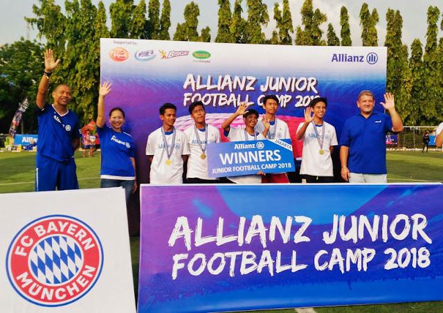 Pemain Terpilih Allianz Junior Football Camp 2018