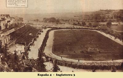 Metropolitano, 1929, España, Inglaterra, 4-3, Madrid,
