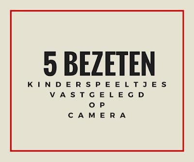 5 bezeten kinderspeeltjes vastgelegd op camera