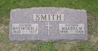 Raymond James Smith Martha Margaret Gotsche Racine Wisconsin